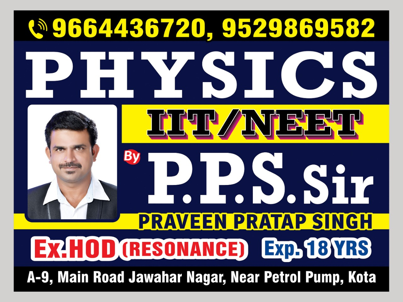 Logo of PPS Physics Classes in Kota