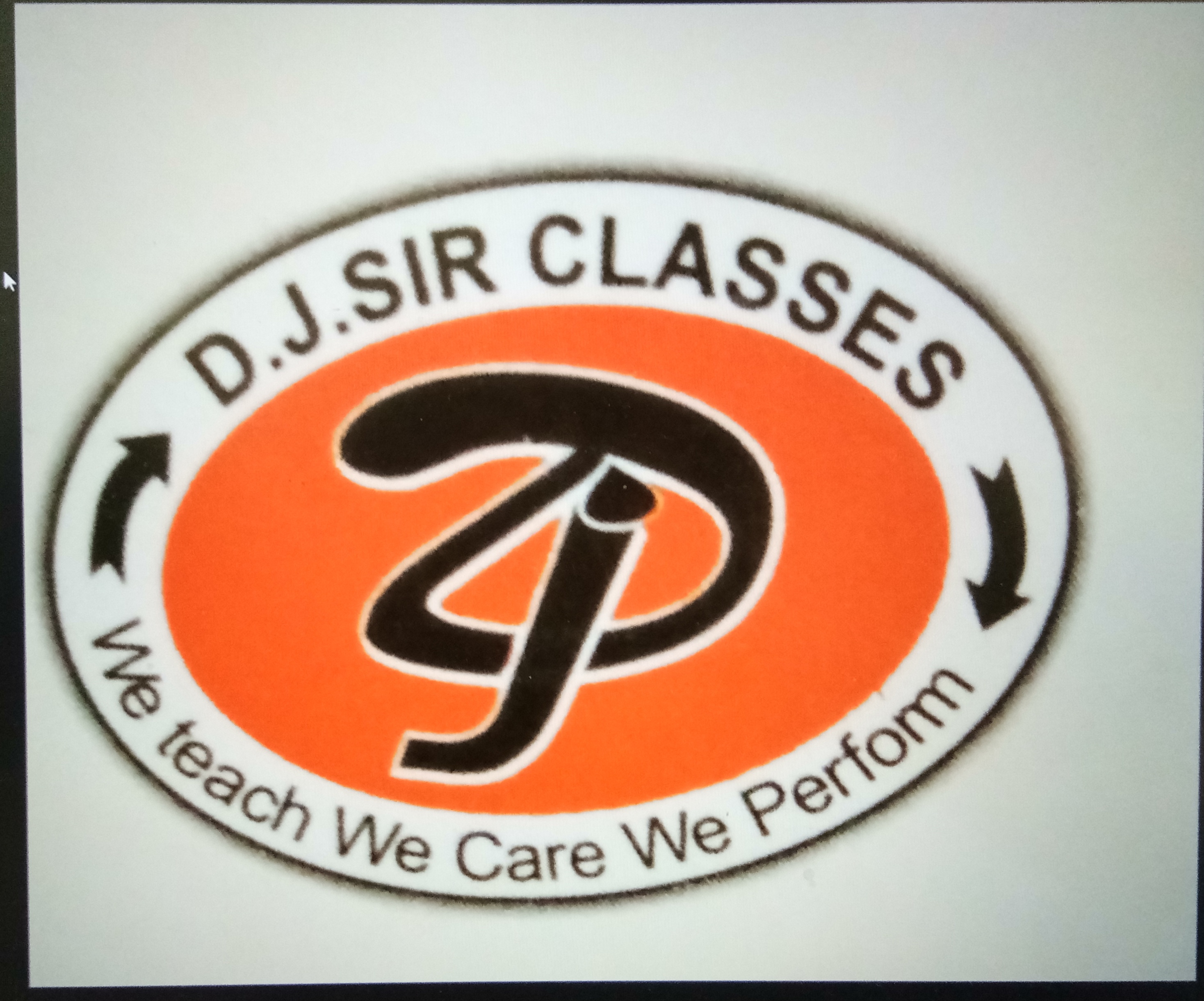 Logo of DJ Sir Classes in Kota